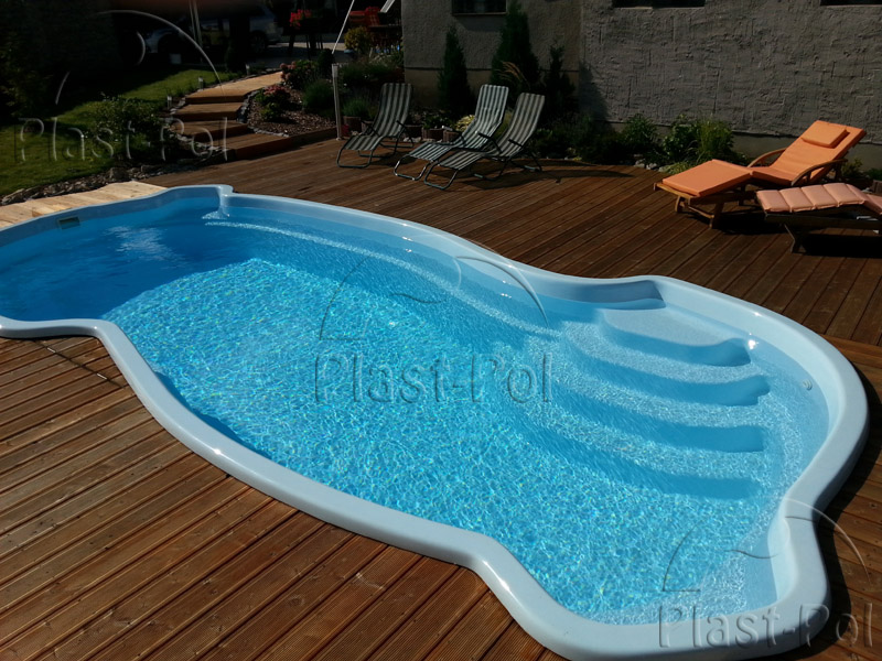 gfk schwimmbecken 7 50x3 50x1 20 1 60 swimming pool einbaubecken fertigbecken ebay. Black Bedroom Furniture Sets. Home Design Ideas