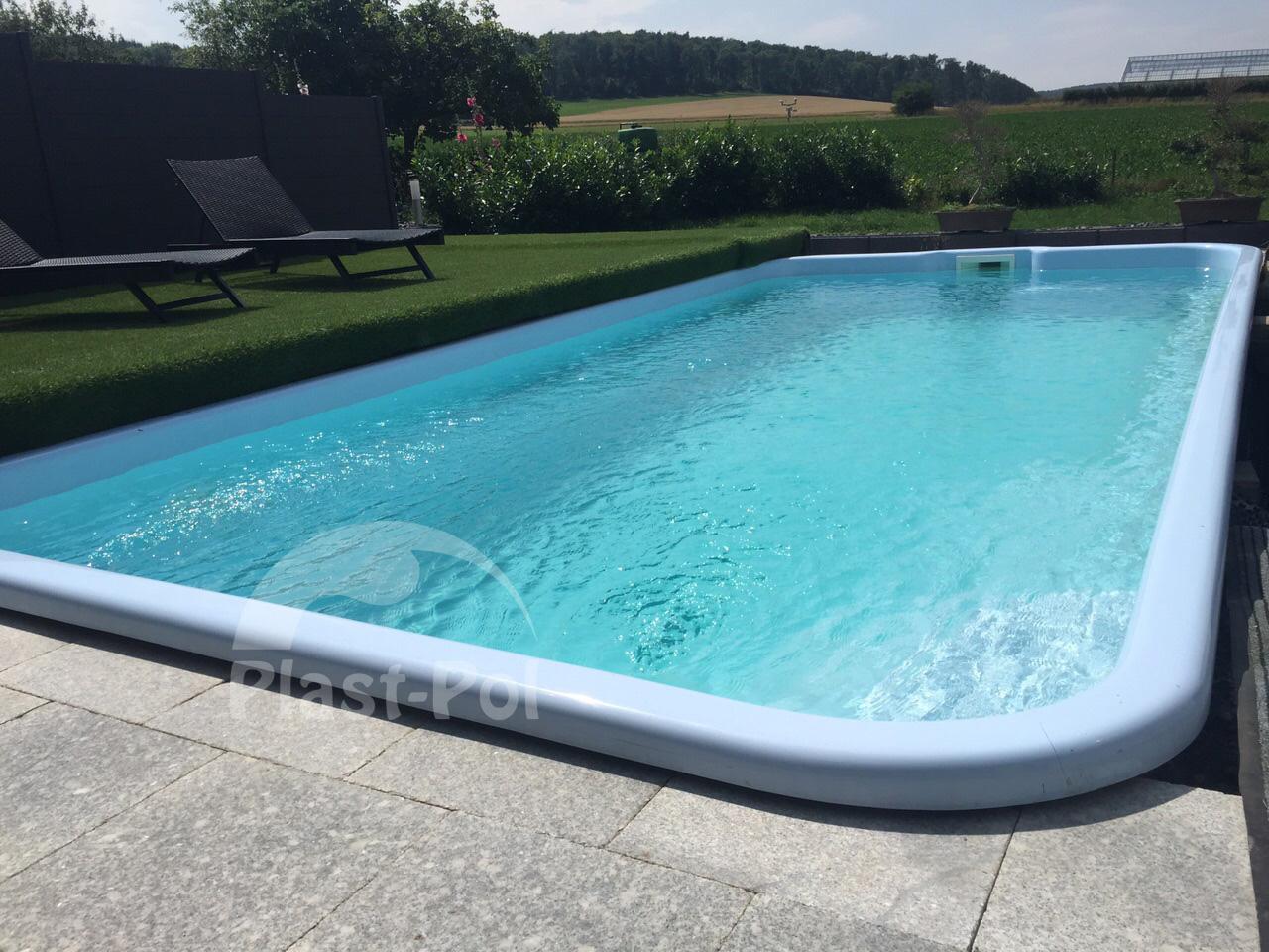 Gfk schwimmbecken swimming pool 6 2x3 0 fertigbecken for Swimming pool ausverkauf
