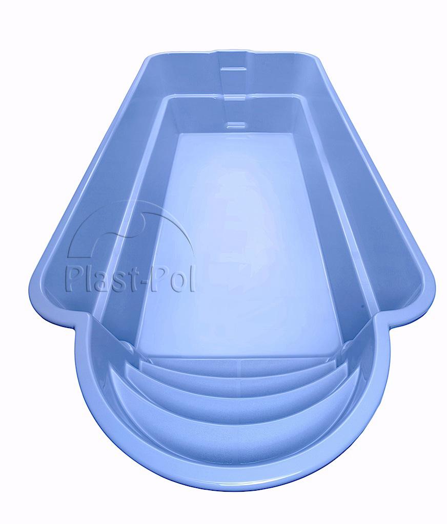 Gfk schwimmbecken 5 0x3 0x1 50 swimming pool einbaubecken for Gartenpool gfk